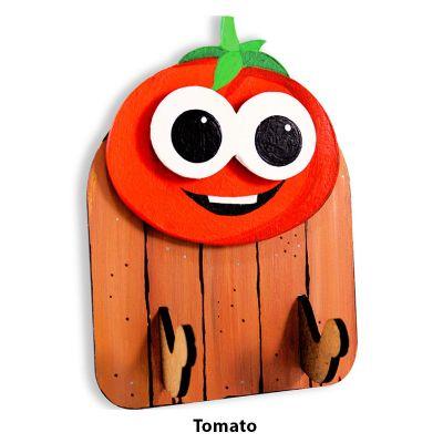 3D Vegetable Key Hanger - Tomato