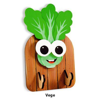 3D Vegetable Key Hanger - Vege