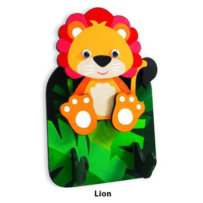 3D Zoo Animal Key Hanger - Lion