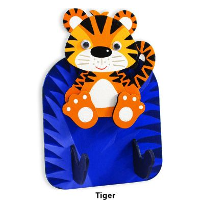 3D Zoo Animal Key Hanger - Tiger