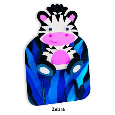 3D Zoo Animal Key Hanger - Zebra