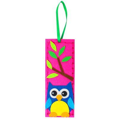 Felt Cutie Bookmark - Owl