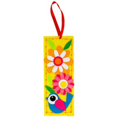 Felt Cutie Bookmark - Bird