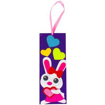Felt Cutie Bookmark - Rabbit