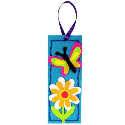 Felt Cutie Bookmark - Butterfly