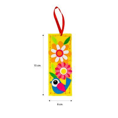 Felt Cutie Bookmark - Size
