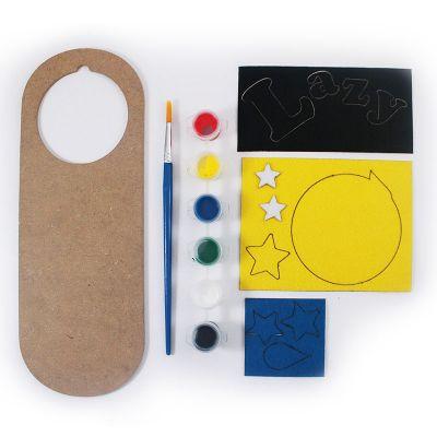 Felt Emoji Door Hanger Kit - Contents