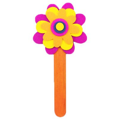Felt Flower Bookmark