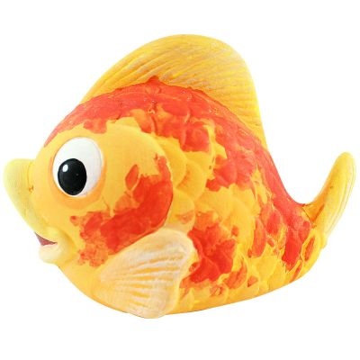 Small Ceramic Coin Bank - Fish