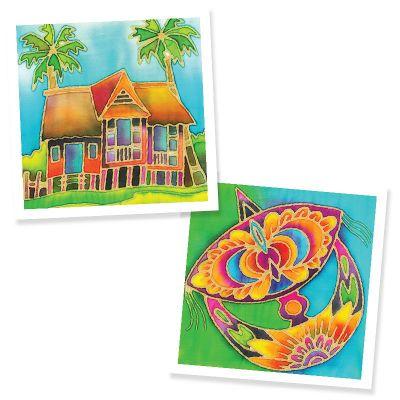 Batik Painting 2-in-1 Box Kit - Set 1