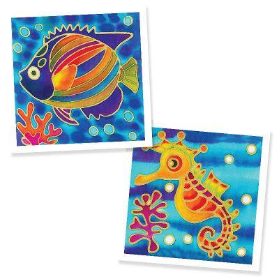 Batik Painting 2-in-1 Box Kit - Set 10