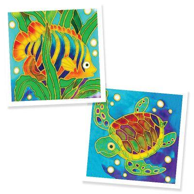 Batik Painting 2-in-1 Box Kit - Set 3
