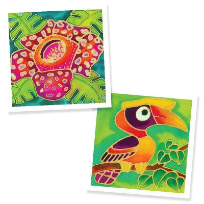 Batik Painting 2-in-1 Box Kit - Set 5