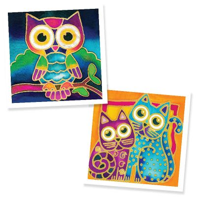 Batik Painting 2-in-1 Box Kit - Set 6