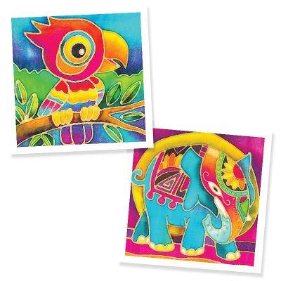 Batik Painting 2-in-1 Box Kit - Set 7