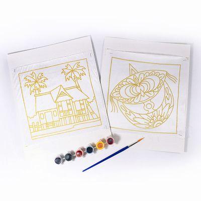 Batik Painting 2-in-1 Box Kit - Content