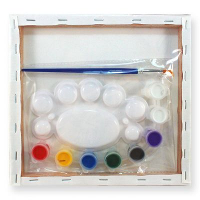 Canvas Wall Art - Kit / Loose - Packaging Back