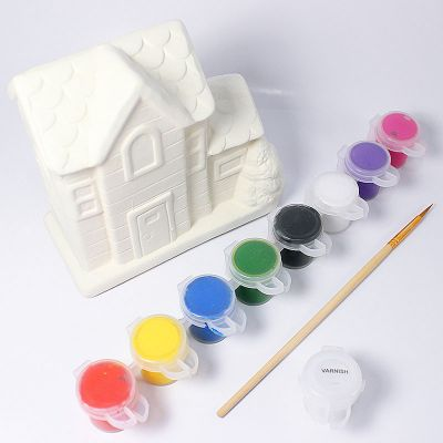 House Coin Bank Painting - Content
