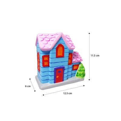 House Ceramic Coin Bank - Average Size