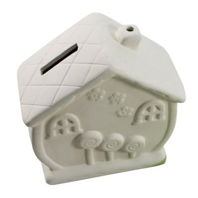 House Ceramic Coin Bank - Loose
