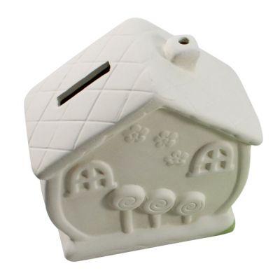 House Ceramic Coin Bank - Loose