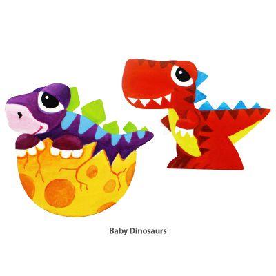Cool Kids' Wonderland Magnet Fun - Baby Dinosaurs