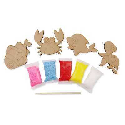 Foam Clay Magnet Kit - Content