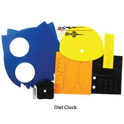 Felt Owl Clock - Content
