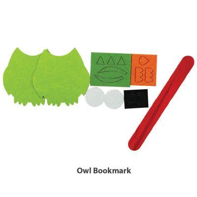 Felt Owl Bookmark - Content