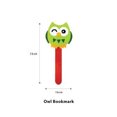 Felt Owl Bookmark - Size