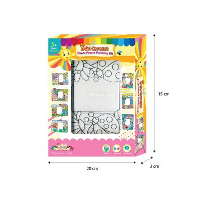 Suncatcher Photo Frame Box Kit - Size