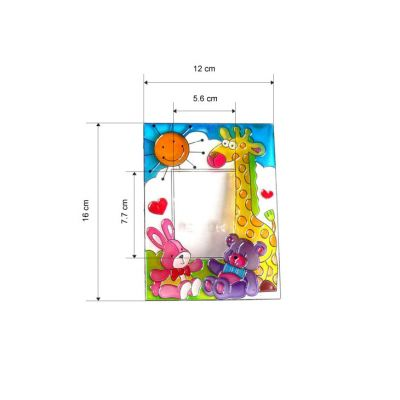 Suncatcher Photo Frame - Size