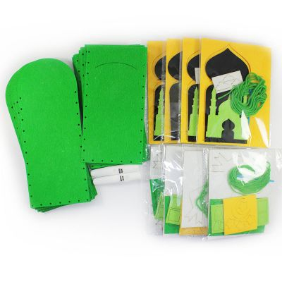 Felt Raya Money Packet Pack of 10 - ContentsFelt Raya Money Packet Pack of 10 - Packaging Front