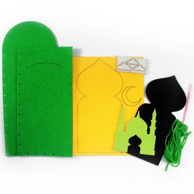Felt Raya Money Packet Pack of 10 - ContentsFelt Raya Money Packet - Mosque