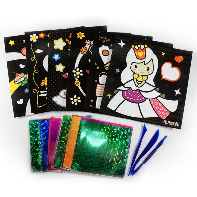 Foil Art Box Kit - 6-in-1 - Contents