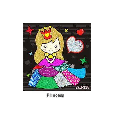 Foil Art - Princess