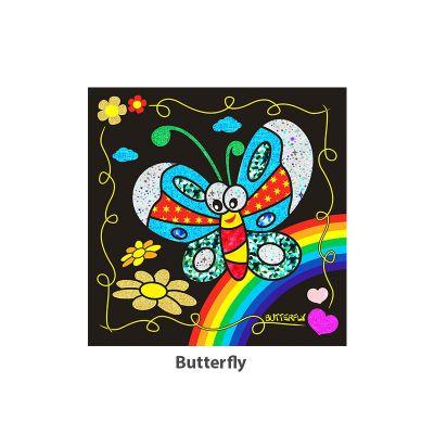 Foil Art - Butterfly