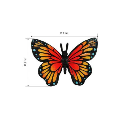 3D Animal Paper Mache Painting Kit - Butterfly - Size