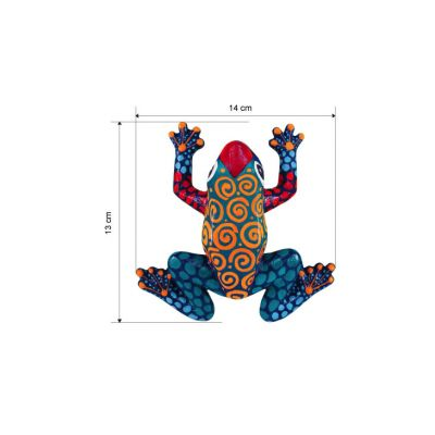 3D Animal Paper Mache Painting Kit - Frog - Size