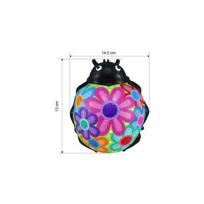 3D Animal Paper Mache Painting Kit - Ladybird - Size