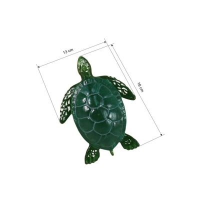 3D Animal Paper Mache Painting Kit - Sea Turtle - Size