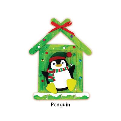 Christmas Key Hanger Kit - Penguin