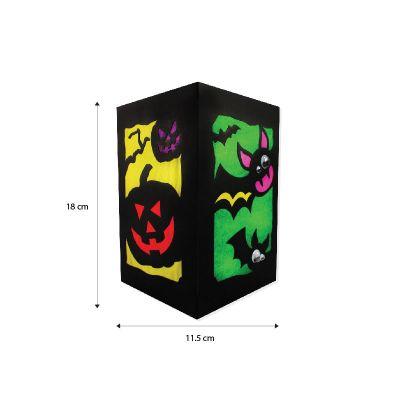 DIY Halloween Lantern - Size