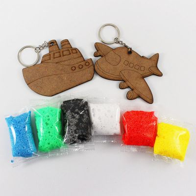 Foam Clay 2-in-1 Transport Keychain Kit - Contents