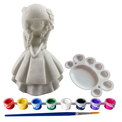 Silicone Coin Bank Painting Series D - Kit - Contents