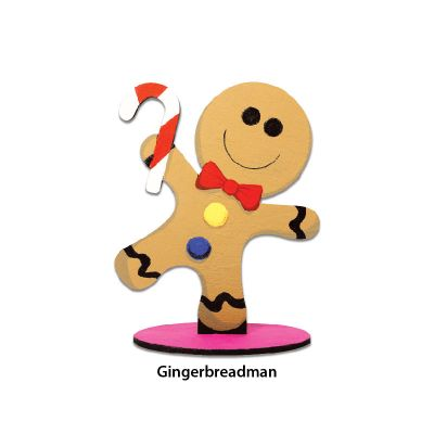 Christmas Stand Deco - Gingerbreadman