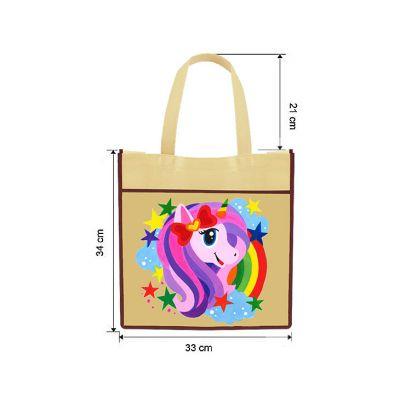 DIY Animal Tote Bag Painting - Size