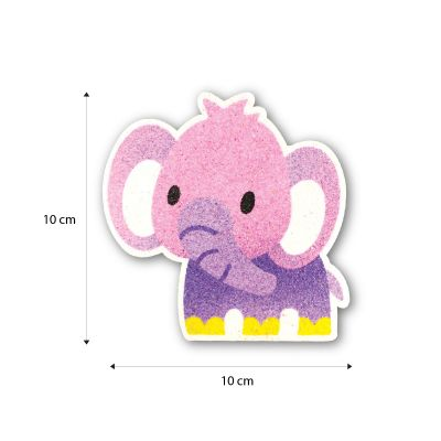 5-in-1 Sand Art Animal Board - Size