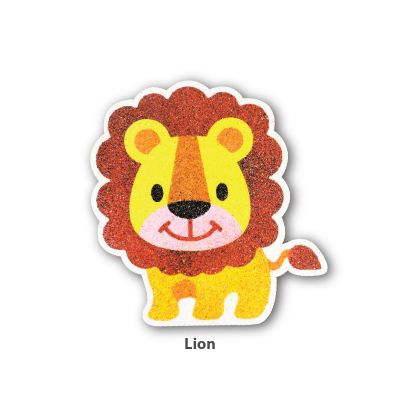 5-in-1 Sand Art Animal Board - Lion