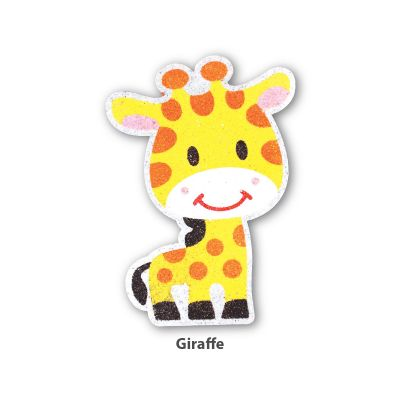 5-in-1 Sand Art Animal Board - Giraffe